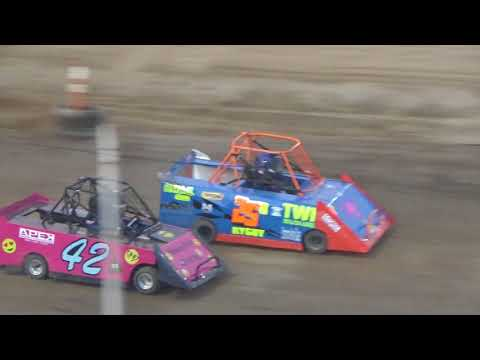 Mini Wedge Feature #2 at Crystal Motor Speedway on 07-07-2018!