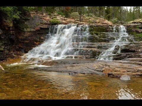 Provo River Falls, Mirror Lake Scenic Highway UT