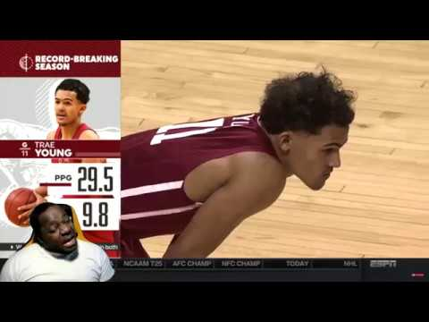 Is Trae Young The BEST SHOOTER in College??! Oklahoma vs Oklahoma State Highlights - Reaction
