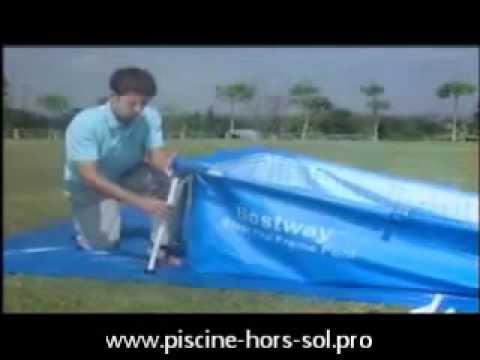 Vidéo Du0027un Montage De Piscine Tubulaire BestWay   YouTube