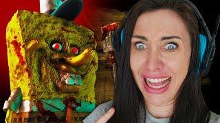 3 verstörende Spongebob Horror Games 🍔