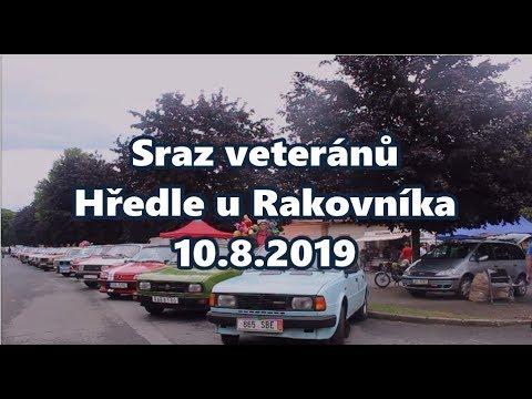Sraz veteránů Hředle u Rakovníka 10 8 2019
