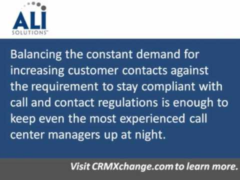 Proactive Contact - Contact Center Compliance