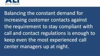 Proactive Contact - Contact Center Compliance
