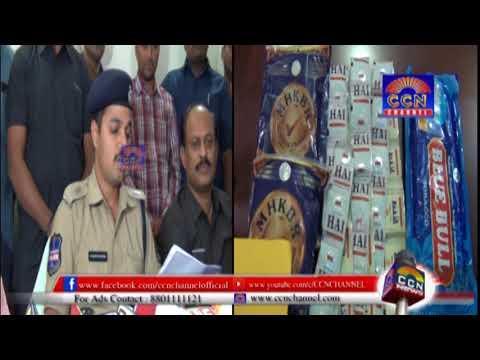 South Zone Task force Seized 10 Kg Ganja & Gutkha, Zarda 4 Bags