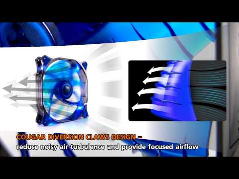 COUGAR CFD series 120/140mm LED fan