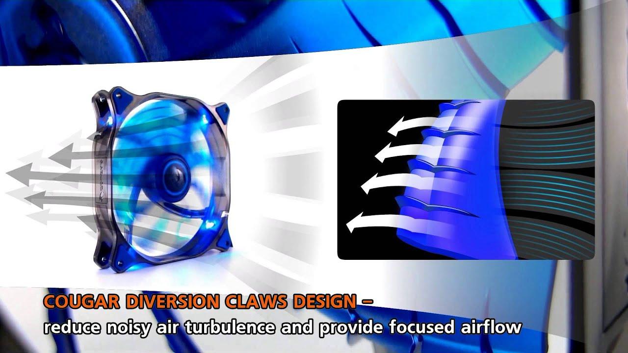 Resultado de imagem para Ventilador Cougar Gaming CFD 140mm LED Blue