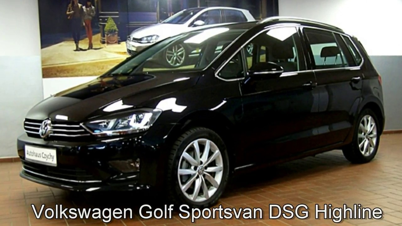 volkswagen golf sportsvan 1 4 tsi dsg highline hw505346. Black Bedroom Furniture Sets. Home Design Ideas