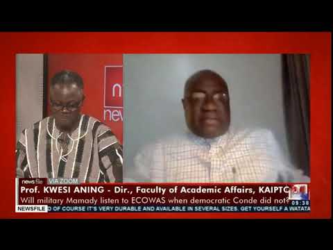 Prof. Kwesi Aning showers praise on IGP, Dr. George Akuffo Dampare #Newsfile