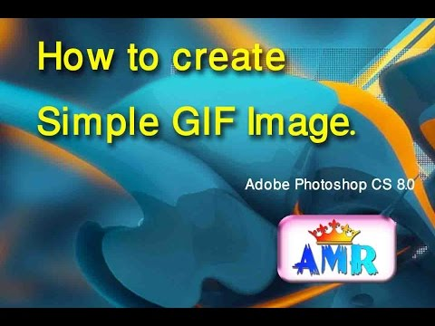 """How to create simple GIF image.""""animation image"""""""
