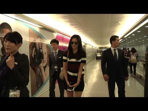 [Wangjhouse] Jun Ji Hyun arriving Taiwan International Airport [20140724]