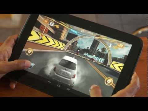 Samsung nexus 10, La tablet oficial de Google