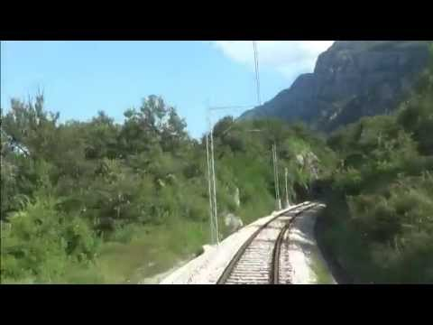 Railway in Montenegro, railroad Podgorica- Niksic