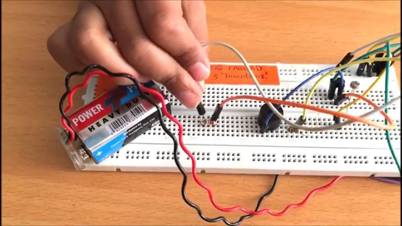 Dark Detector Alarm Youtube Fire Circuit Using Ldr Light Depending Resistor As Sensor