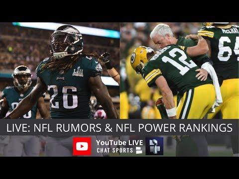 NFL Rumors, NFL Power Rankings, Le\'Veon Bell Status And Aaron Rodgers Injury Update