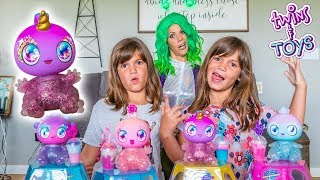 Twins Kate and Lilly Rescue Goo Goo Galaxy Baby Aliens!