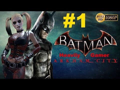 Batman Arkham City Gameplay Walkthrough (PC) Part 1:Intro/Saving Catwoman/Church Hostage Situation