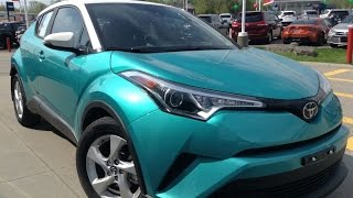 Discover the New 2018 Toyota CH-R XLE from Dealers 1000 Islands Toyota in Brockville, Ontario