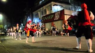 2012/08/30 諸見里青年会による諸見里エイサー.
