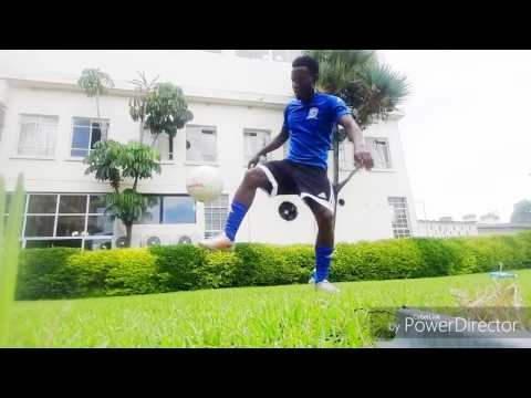 Mazabuka boy Nakambala leopards some crazy skills after a workout LUSAKA ZAMBIA