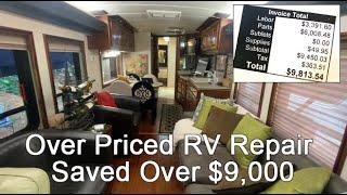 Saving an RV owner Thousands of dollars on repair estimate.  This Wanderlodge rv detroit diesel 8v92