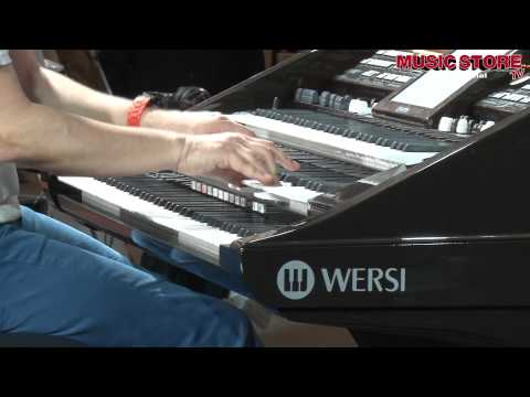 Robert Bartha plays WERSI @ Musikmesse 2012