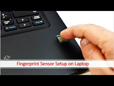 How To Set Up Finger Print Sensor Lock On Any Dell Laptop