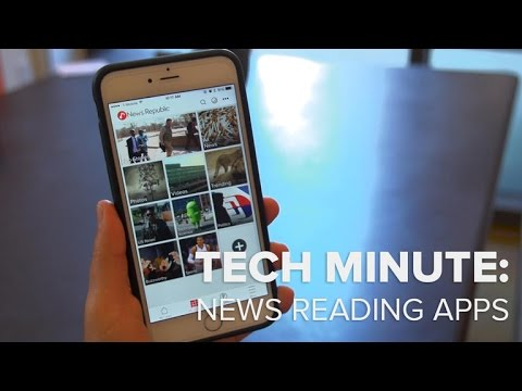 Tech Minute - Best apps for all the news that's fit for you
