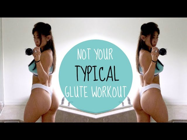 NOT YOUR TYPICAL GLUTE WORKOUT | New Glute Exercises