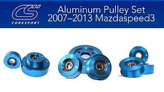 2007-2013 Mazdaspeed 3 Aluminum Pulley Set
