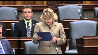 Sylvia Jones MPP makes Member Statement Commemorating Lorna Bethell