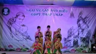 GĐPT Thập Tháp  Văn Nghệ Vu Lan 2558 part 13