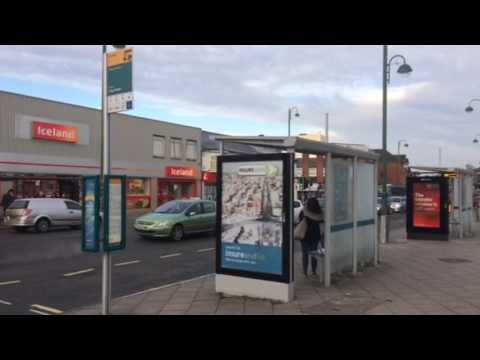 Southampton City UK England & Bus Stop Adverts