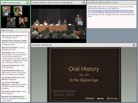 C2CC WebWise Reprise Oral History Digital Age
