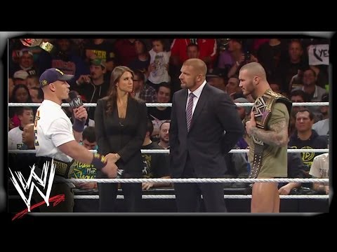 The Authority announces the WWE Championship Unification Match: Raw, November 25, 2013