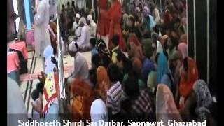 Shri Sai Aarti at Siddhpeeth Shirdi Sai Darbar, Sai Gaon-Sapnawat, Ghaziabad.