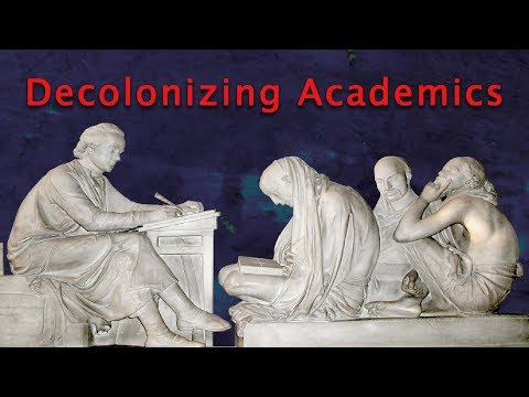 My Oxford Lecture on 'Decolonizing Academics'