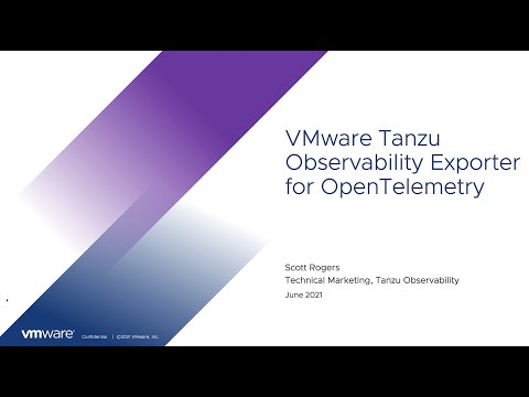 How To: Easy Configuration of Tanzu Observability and the OpenTelemetry Exporter