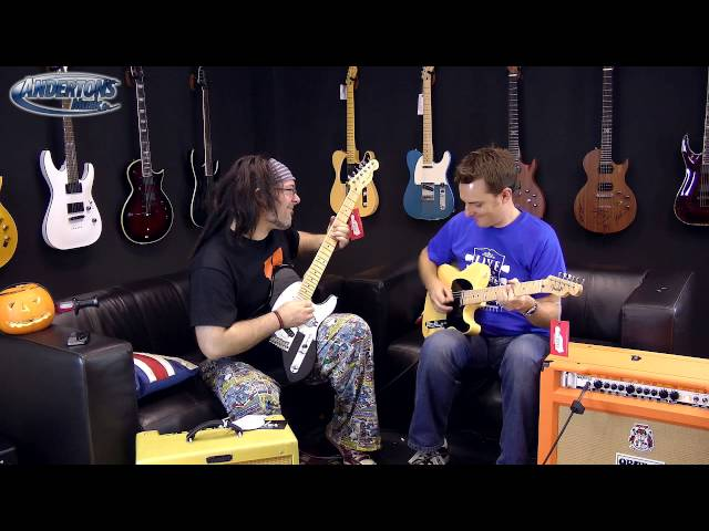 Telecaster Squier vs Fender vs Custom Shop - Part 1