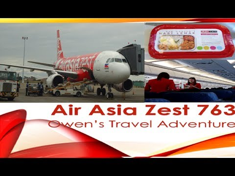 Owen's Travel ✈ Air Asia Zest Z2 763 : Manila (MNL) to Cebu (CEB)