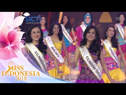 Tarian Opening Miss Indonesia 2018   Miss Indonesia 2018