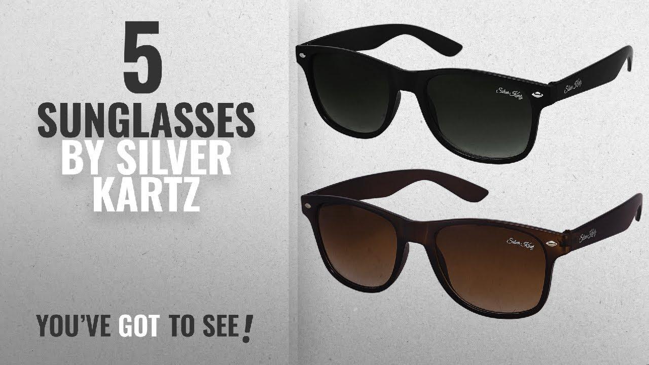 ec4de45b378 Top 10 Silver Kartz Sunglasses  2018   Silver Kartz Combo of 2 ...