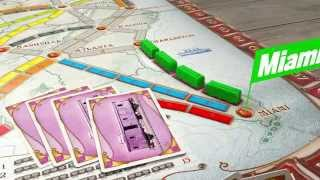 Ticket to Ride Gameplay Trailer