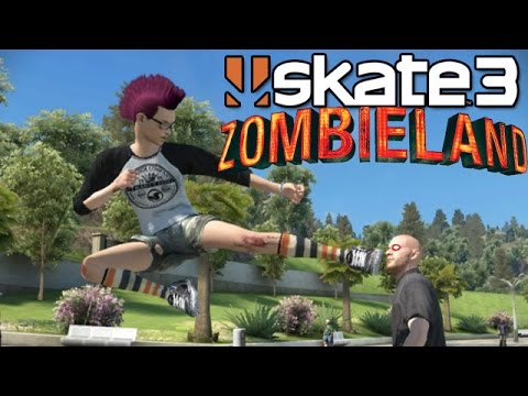 Skate 3: Zombieland [PS3 Gameplay, Commentary] fragman