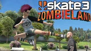 Skate 3: Zombieland [PS3 Gameplay, Commentary]