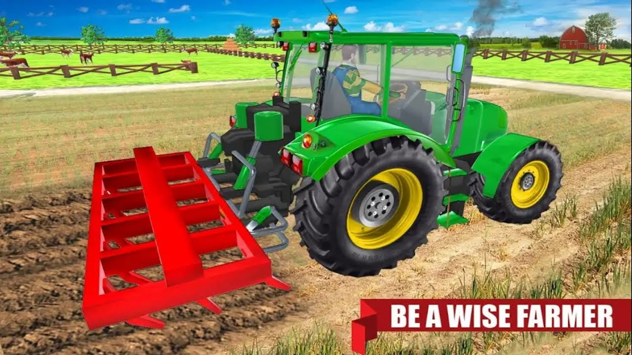 Tractor Real Tractor Farmer 2018 001 Farming Games