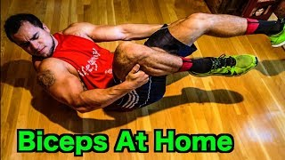 Intense Tabata At Home Bicep Workout (HIIT)
