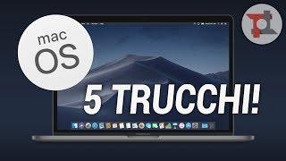 5 TRUCCHI/FUNZIONI per MAC OS che forse NON CONOSCEVI | TuttoTech | ITA