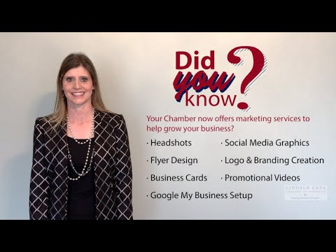 Did you know the Lindale Chamber offers business marketing services?
