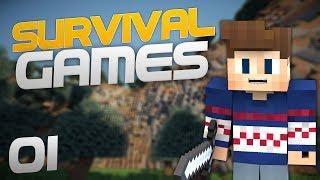 GG Tinoo! | Minecraft SurvivalGames | Game 01
